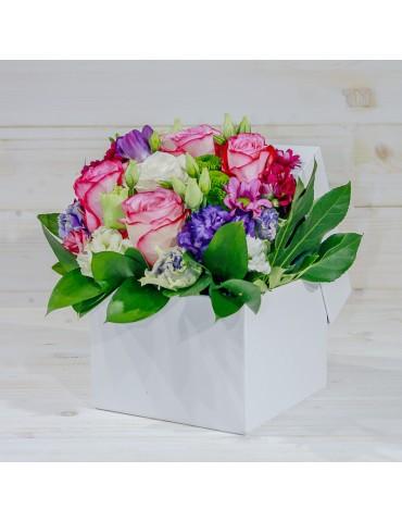 Mix de flori în cutie